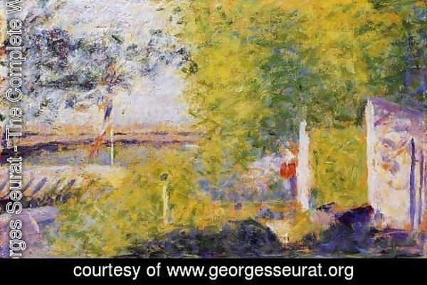Georges Seurat - The Bineau Bridge