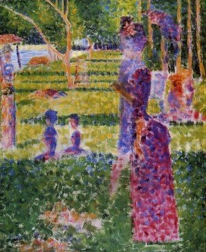 Georges Seurat - The Couple
