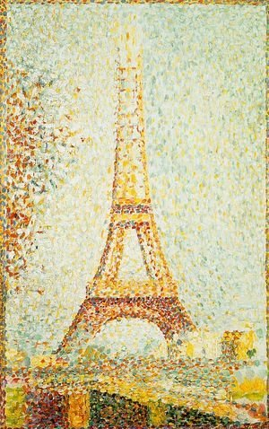 Georges Seurat - The Eiffel Tower 1889