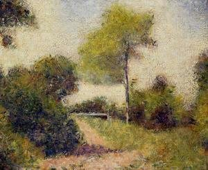 Georges Seurat - The Hedge Aka The Clearing