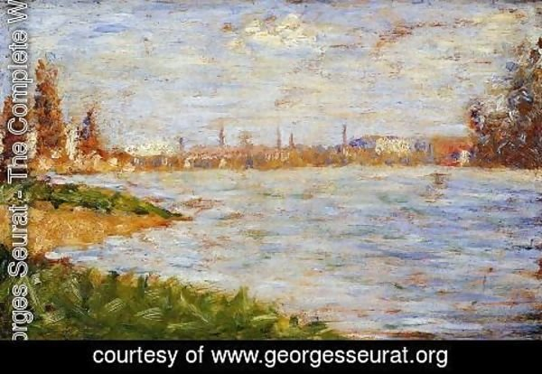 Georges Seurat - The Riverbanks
