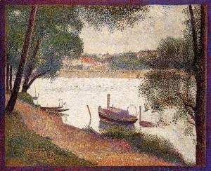 Georges Seurat - The Seine At La Grande Jatte In The Sprin