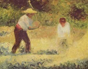 Georges Seurat - The Stone Breaker