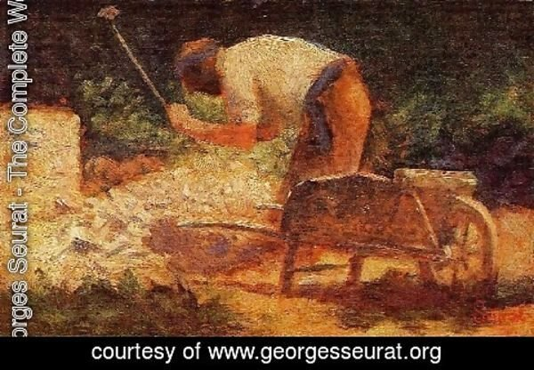 Georges Seurat - The Stone Breaker3