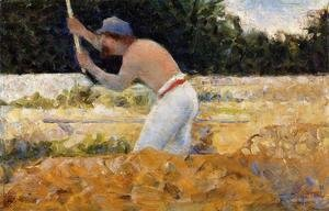 Georges Seurat - The Stone Breaker 4
