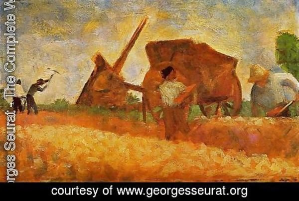 Georges Seurat - The Stone Breakers