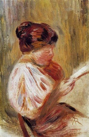 Georges Seurat - Woman Reading