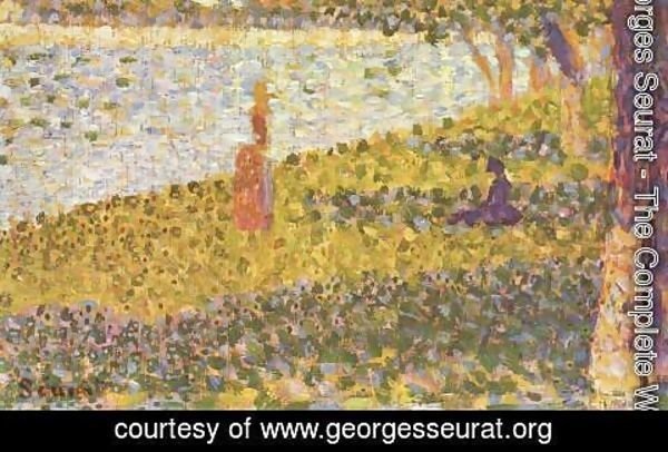 Georges Seurat - Women By The Water