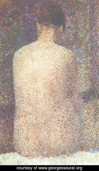 Georges Seurat - Model from Behind