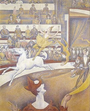 Georges Seurat - The Circus 1890-91