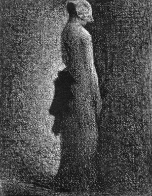 Georges Seurat - Black Knot